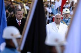 Le Pape François en Turquie