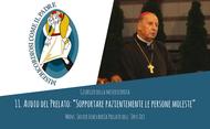 """Audio del Prelato: """"Sopportare pazientemente le persone moleste"""""""