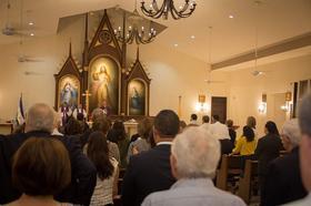 Santa Misa por el Padre en Nicaragua
