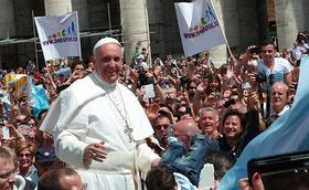 """Papa Francesc: """"El centre de tot sistema social o econòmic ha de ser la persona"""""""