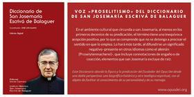 Proselitismo (Voz del diccionario de San Josemaría Escrivá de Balaguer)