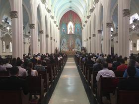Misa de San Josemaría en Panamá, en vísperas de la ampliación del Canal