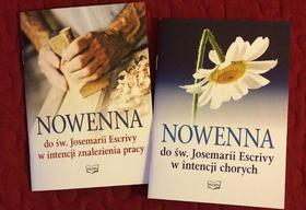 Ukazały się drukiem dwie pierwsze nowenny do św. Josemarii