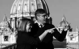 Ulf Ekman: Påven har en roll som herde och tjänare till alla kristna