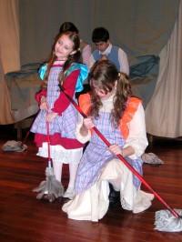 Un momento en la ópera de niños