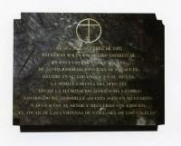 在大殿入口處的一旁安放了一塊金屬板寫著:當施禮華在1928年10月2日,在聖雲先會的房子內參與退省時,他在心靈和腦海中領受了主業會神聖的種子。