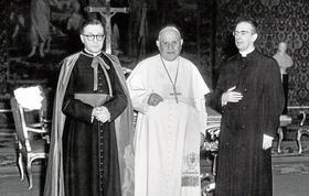 San Josemaría y su amor al Papa