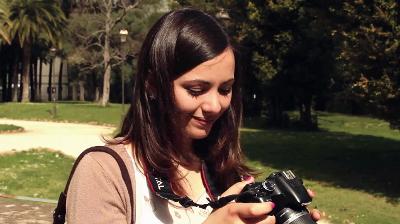 Alessandra: 'Para mí, vivir la fe significa tener presente a Dios en mi día a día'.
