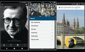 Algunas aplicaciones sobre san Josemaría