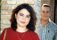 Alfonso y su mujer, Inma