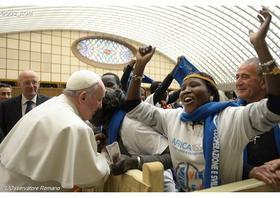 Pápežová audiencia o roku milosrdenstva (20. januára 2016)