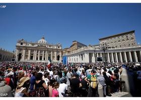 Pápežova audiencia o roku milosrdenstva (20. apríl 2016)