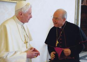 Prelaadi audients Paavst Benedictus XVI-ga