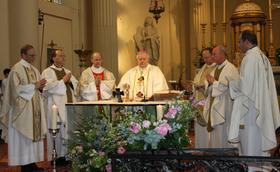 Messe en l'honneur de saint Josémaria à Bruxelles
