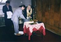 El bautismo de Liuba en Bulgaria