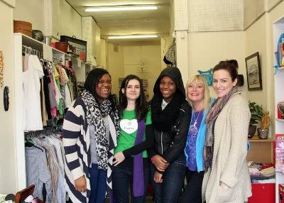In the 'Charity Shop' of Baytree Centre. Photo: Natasha Caruana