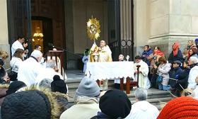 Se realizó la Procesión de Corpus Christi