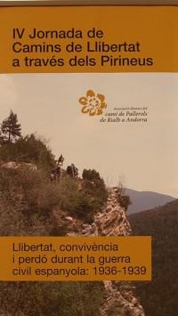 Cartel de la IV Jornada Caminos de Libertad, celebrada el pasado día 13 en la Seu de Urgell.