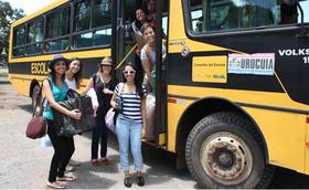 Aventura Solidária no interior do Brasil