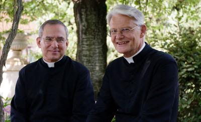 Los autores del libro: Javier López (izqda) y Ernst Burkhart