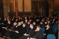 Vista general del salón de actos del Seminario Conciliar de Barcelona.