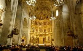 Dos conferencias y un retablo en el centenario de la vocación de san Josemaría en Logroño