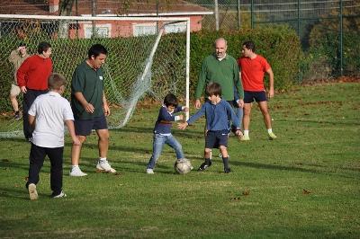Actividad de padres del Club Roiba en Montecelo