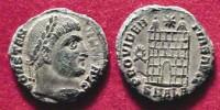 Monnaie à l'effigie de Constantin (4ème siècle)