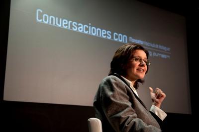 Mónica Herrero, decana da Facultade de Xornalismo da Universidade de Navarra, destacou que 'San Xosemaría era un home profundamente convencido da forza da verdade'.