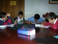Actividade de estudio nun curso de idiomas