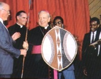 Msgr. Alvaro del Portillo made an elder in KICC in April 1989