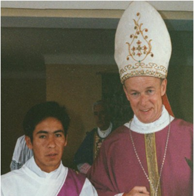 Fr. Doroteo Borda and Bishop Dermott Molloy
