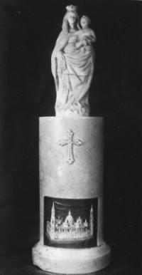Reproducción de la imagen de la Virgen del Pilar