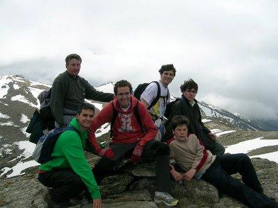 En la cumbre del Pico del Lobo en la provincia de Segovia