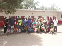 En el colegio de Djibouti