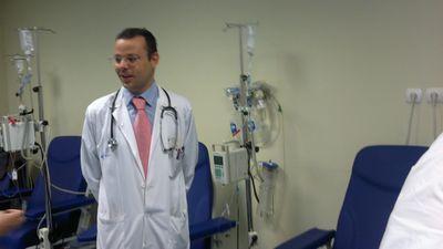 En una consulta médica