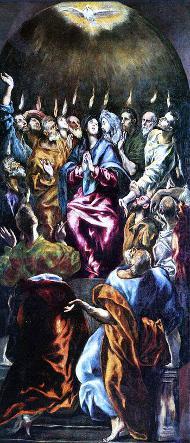 Vida de Maria (XVIII). La vinguda de l'Esperit Sant