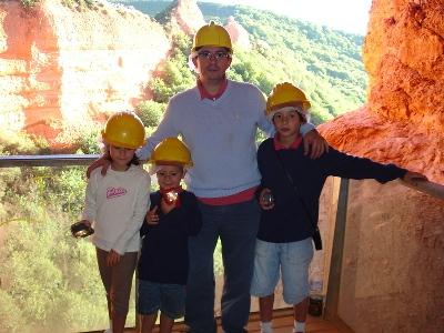 Excursión ás Madulas-Ponferrada