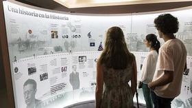 Una original exposición recorre la vida de Álvaro del Portillo en cifras