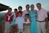 A família Boutin.