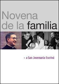 Novena a san Josemaría sobre la familia