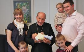Consagração das famílias dos fiéis do Opus Dei