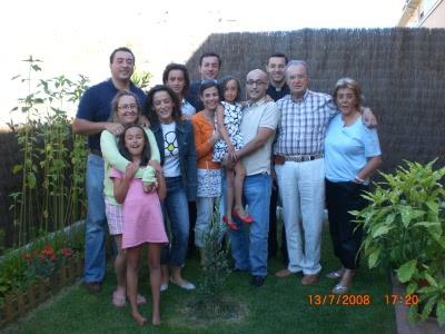 Familia Marín Porgueres al completo