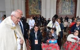 Saudação do Papa Francisco aos doentes em Fátima