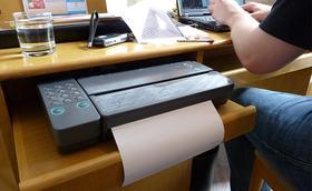 Fer arribar un fax a Tanzània