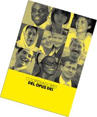 Page de garde du fascicule sur les coopérateurs de l'Opus Dei