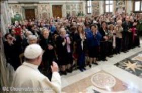 Ojciec Święty do włoskich kobiet