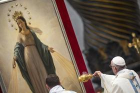 Franciszek: Nie jesteśmy sierotami, mamy Matkę