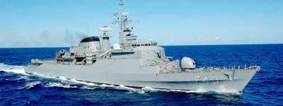Em uma fragata da Armada similar trabalhou José Brage.