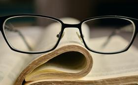 La varilla de las gafas